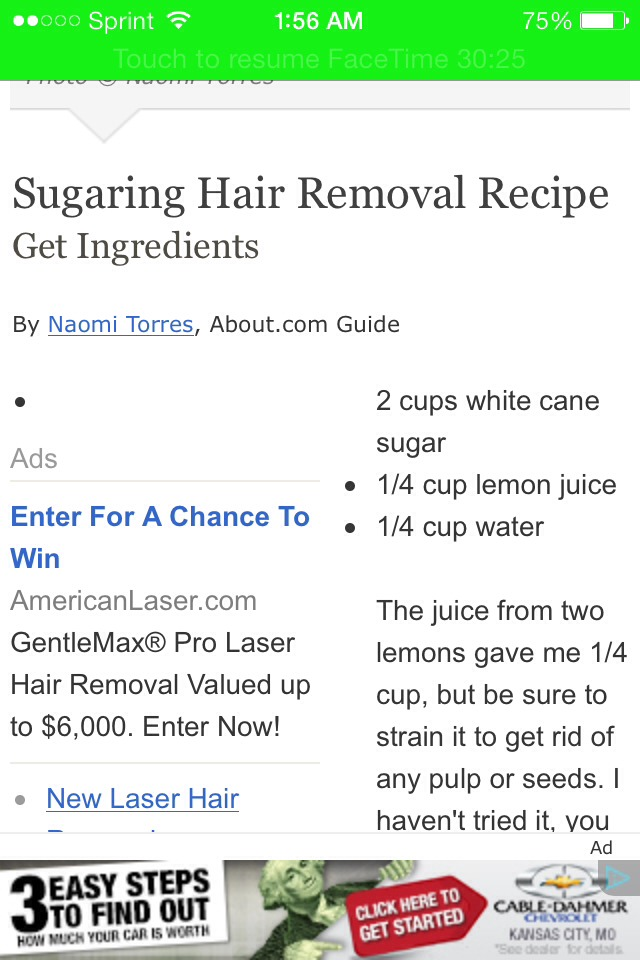 Diy Sugaring At Home Trusper