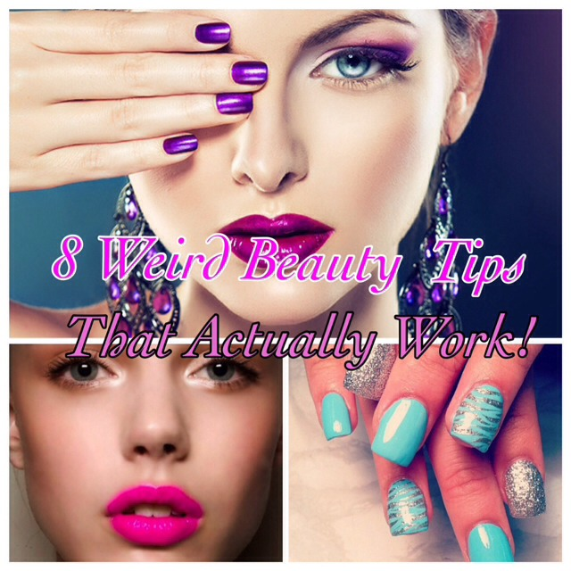 💋8 Weird But True Beauty Tips That Actually Work! AWESOME!💋