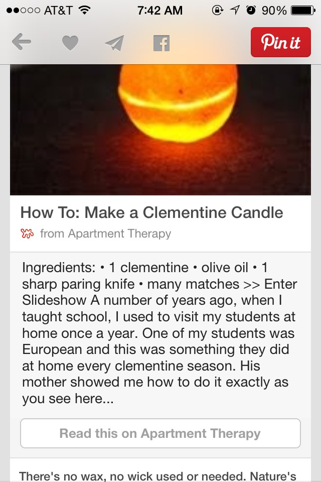 How To Make A Clementine Candle Trusper