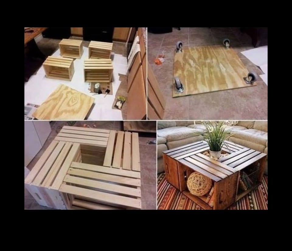 Really diy cool coffee table idea trusper for Really cool coffee tables
