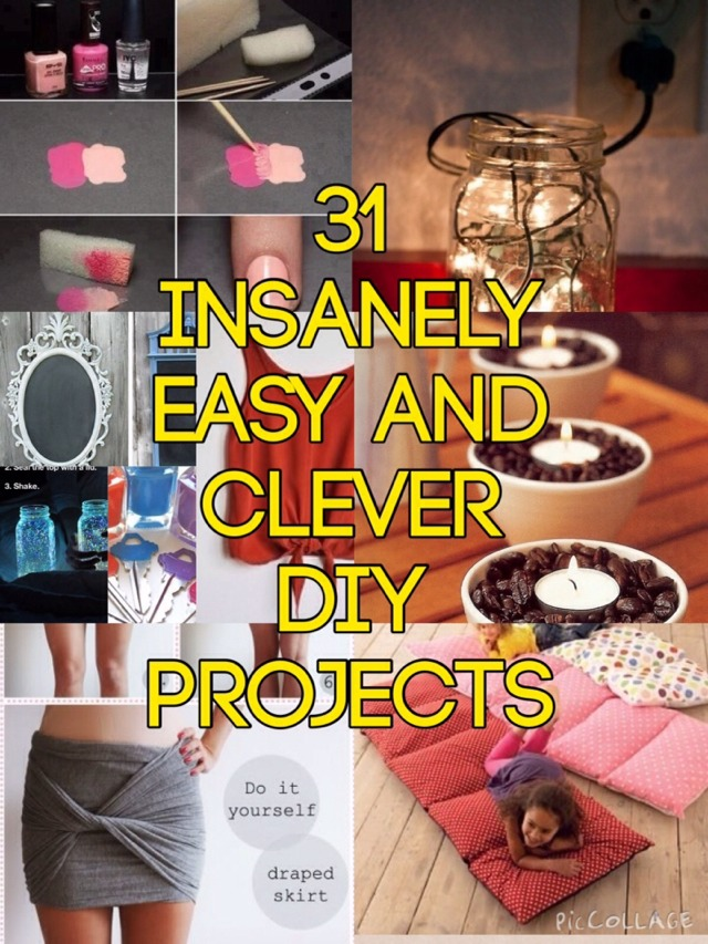 💓3⃣1⃣ Insanely Easy And Clever DIY Projects - Must Try!💓