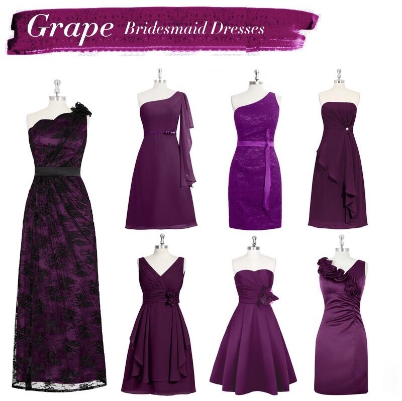 Popular Bridesmaid Dresses Colors - Cheap Wedding Dresses