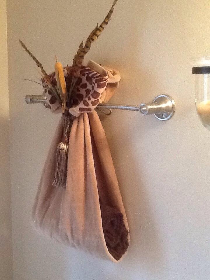 Fancy Way To Display Bathroom Towels Trusper