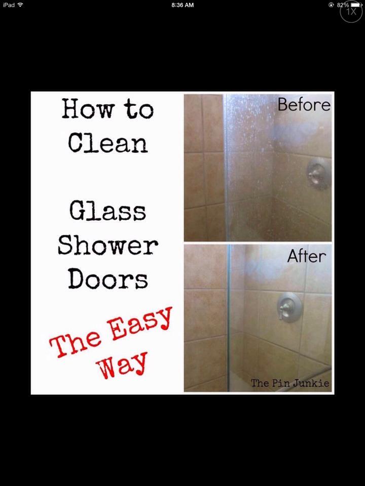 How to make ur bathroom glass doors shine trusper - Make bathroom shine ...