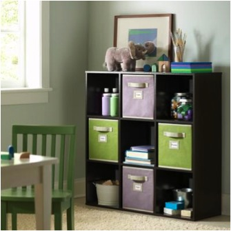 Use Canvas Bins For Decorative Storage Trusper