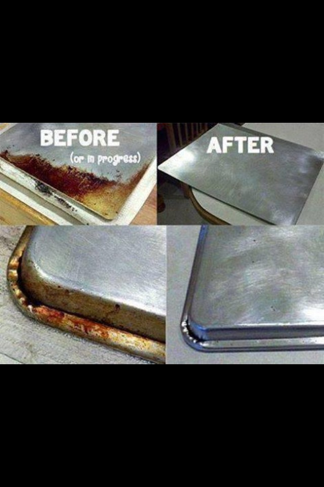 How To Clean A Baking Pan 👍 Amazing!
