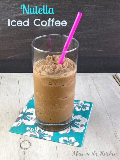 Nutella Ice Coffee!