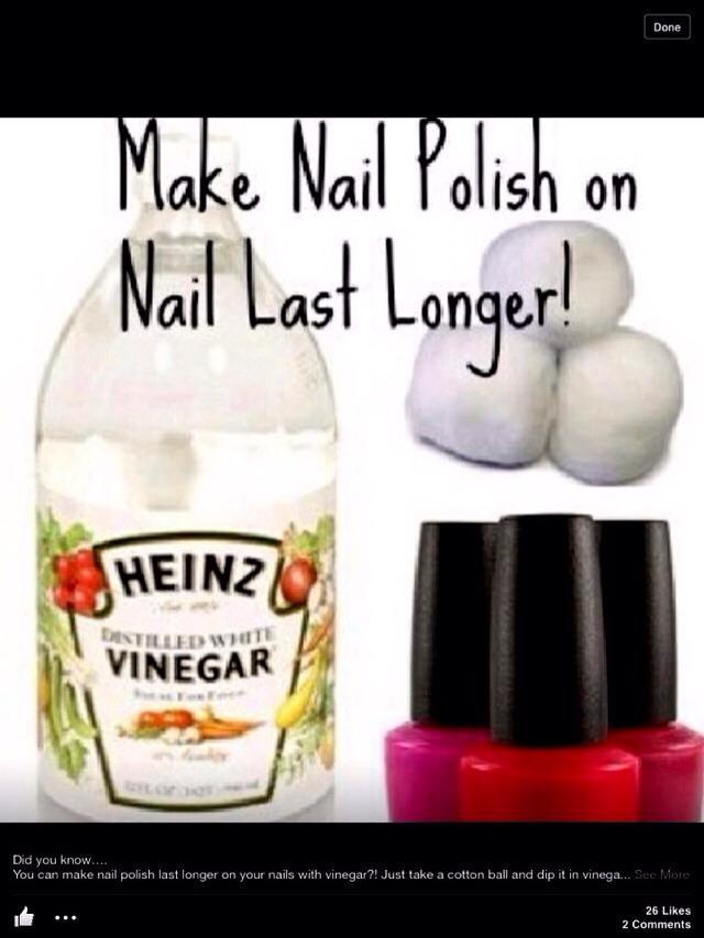 how to make fingernail polish stay on longer