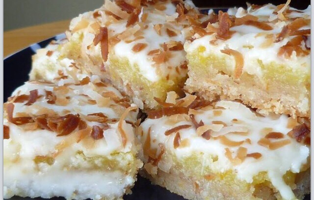 DID YOU KNOW Coconut Cream Cheese Bars