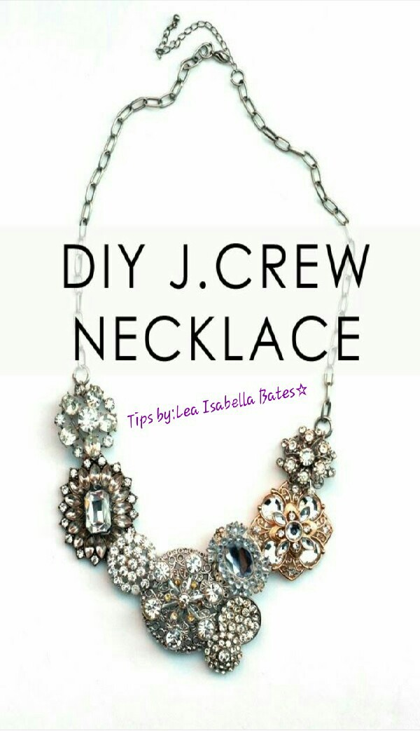 DIY J.CREW Necklace! #Tipit