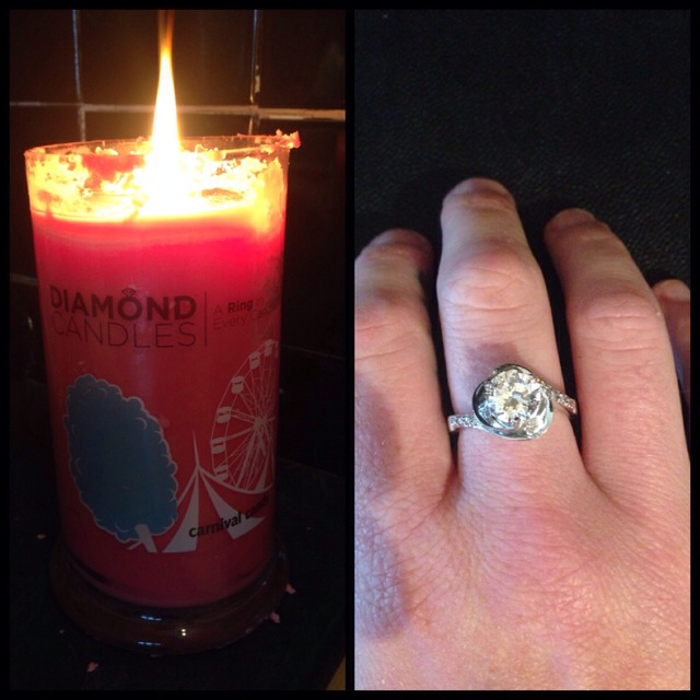 Diamond Candles!  Got My Candle And Ring!!