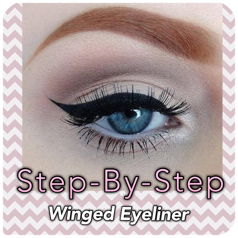 Idea Excuse, Winged eyeliner step by step can, too