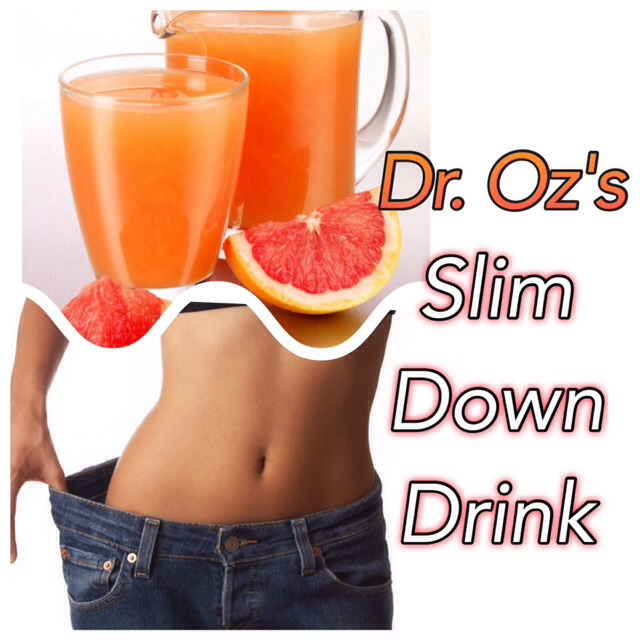 🍊Dr. Oz's Slim-Down Drink - Works WONDERS To Shed Pounds Fast!🍊