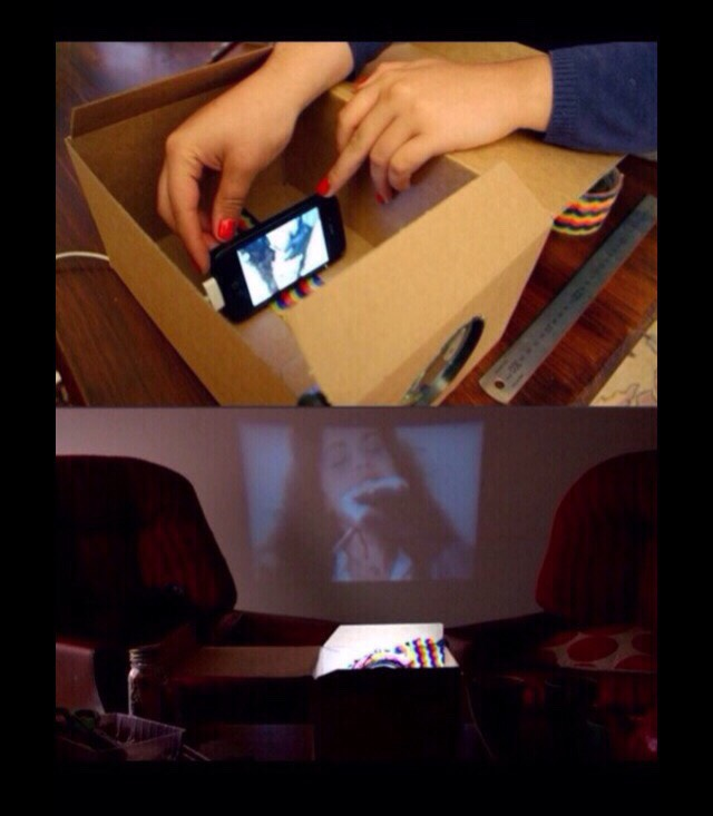 DIY Projector (Cheap and Simple ^^)
