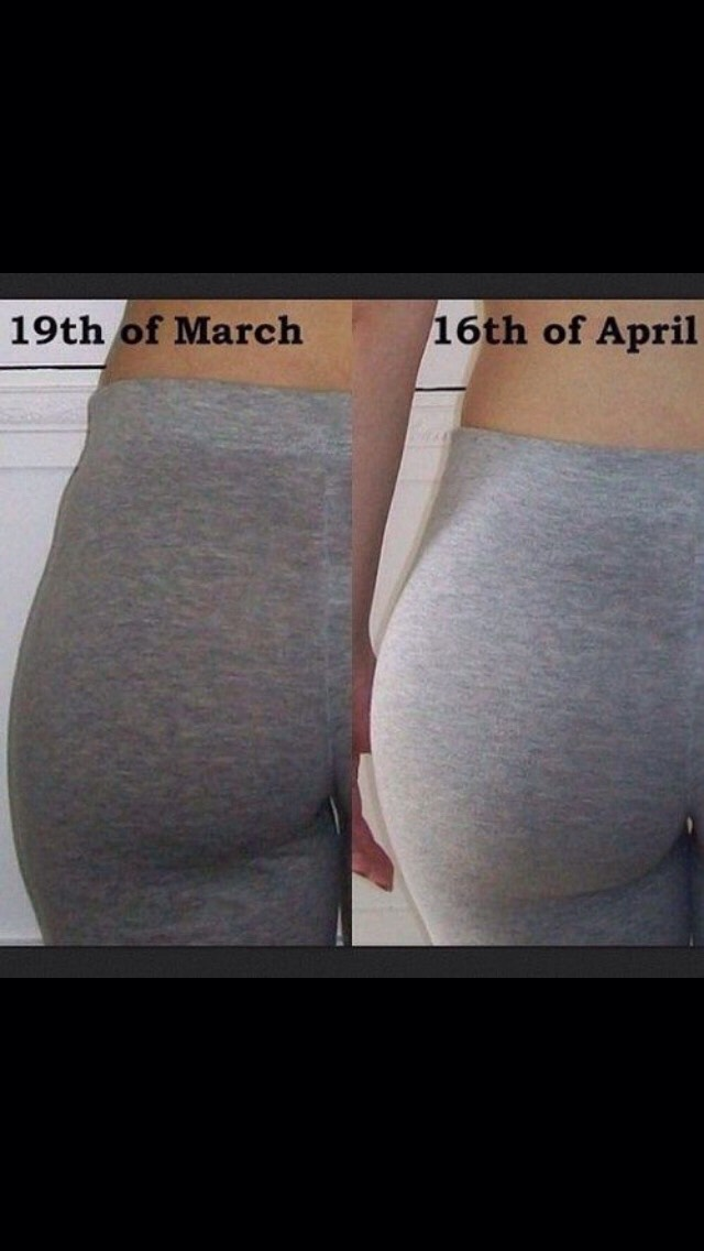 how to get a butt in 1 month!
