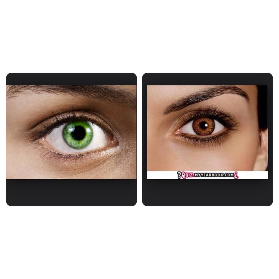THE MEANING OF PEOPLE WITH BROWN OR GREEN EYES