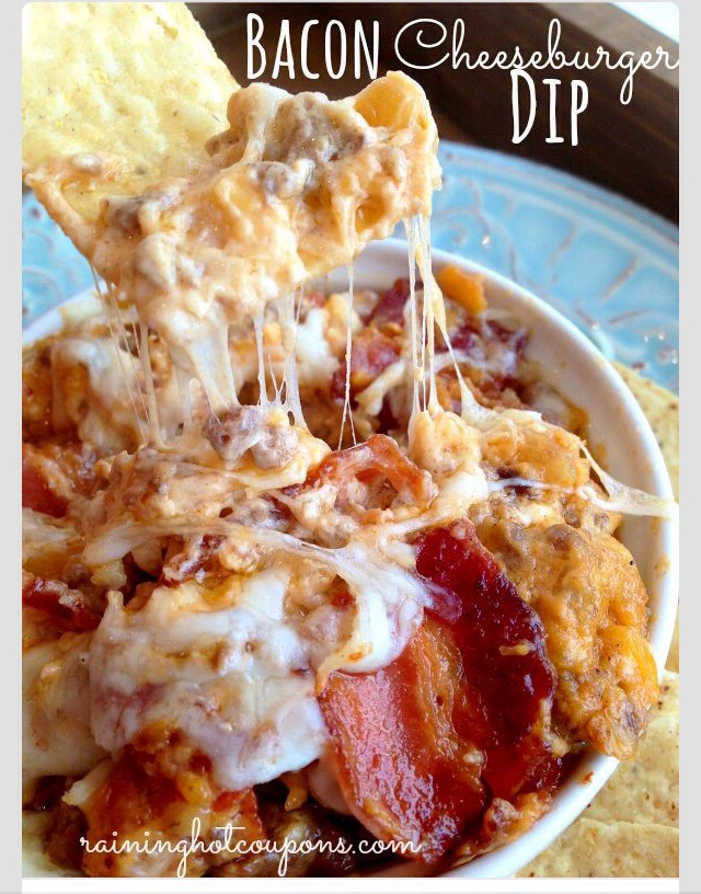 Bacon Cheeseburger Dip | Trusper