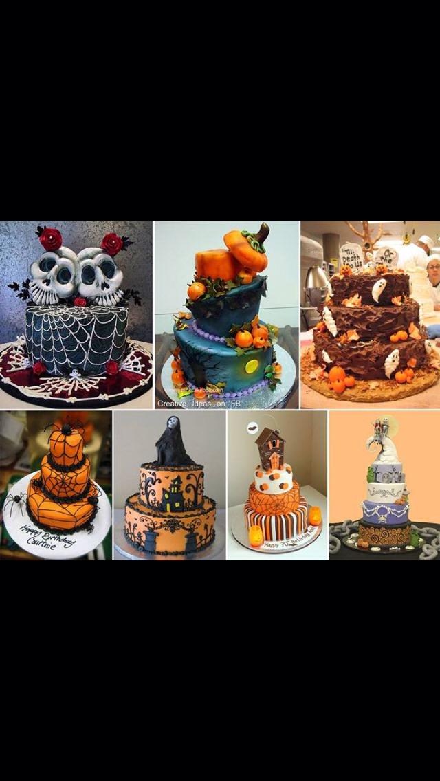 Halloween Funfetti Cake Ideas