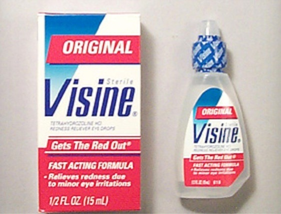 Visine Is Not Only Good For Red/Dry Eyes...