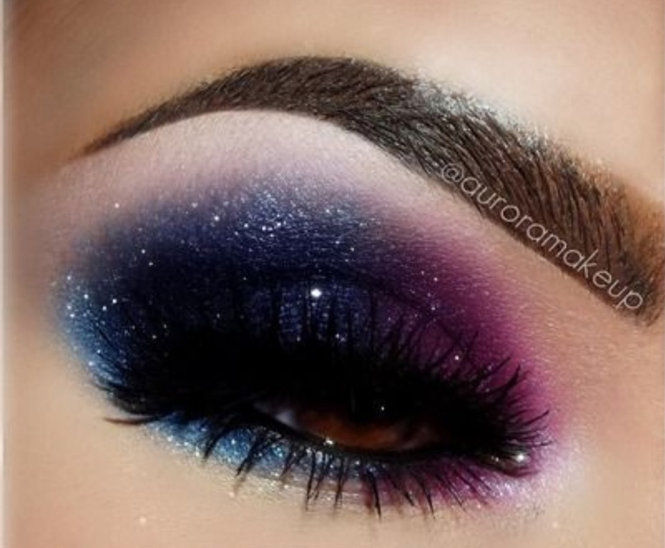 Diy Galaxy Nail Eye Makeup Tutorials Love These