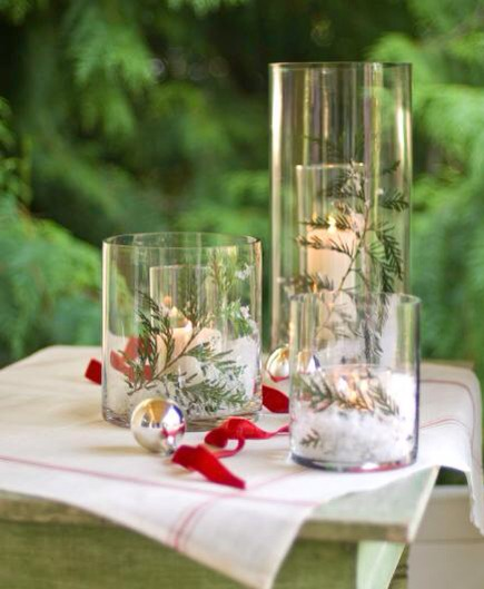 Many easy christmas centerpiece ideas trusper for Quick and inexpensive wedding decorations