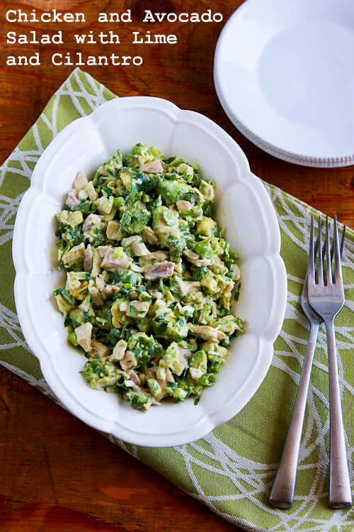 ✨💥 The Best Chicken & Avocado Salad With Lime & Cilantro✨💥😋💯