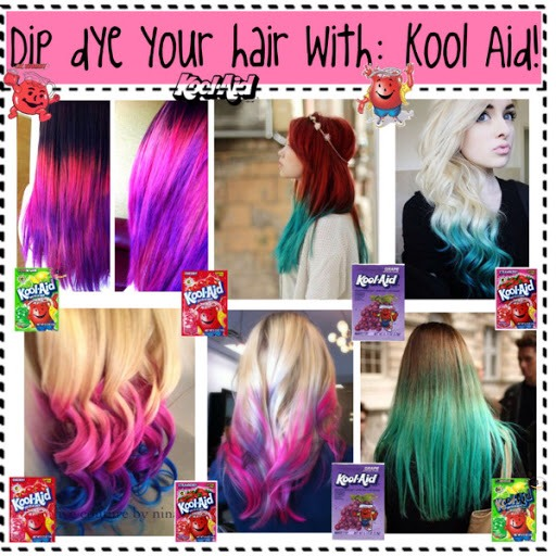 how to dye your hair with kool aid trusper