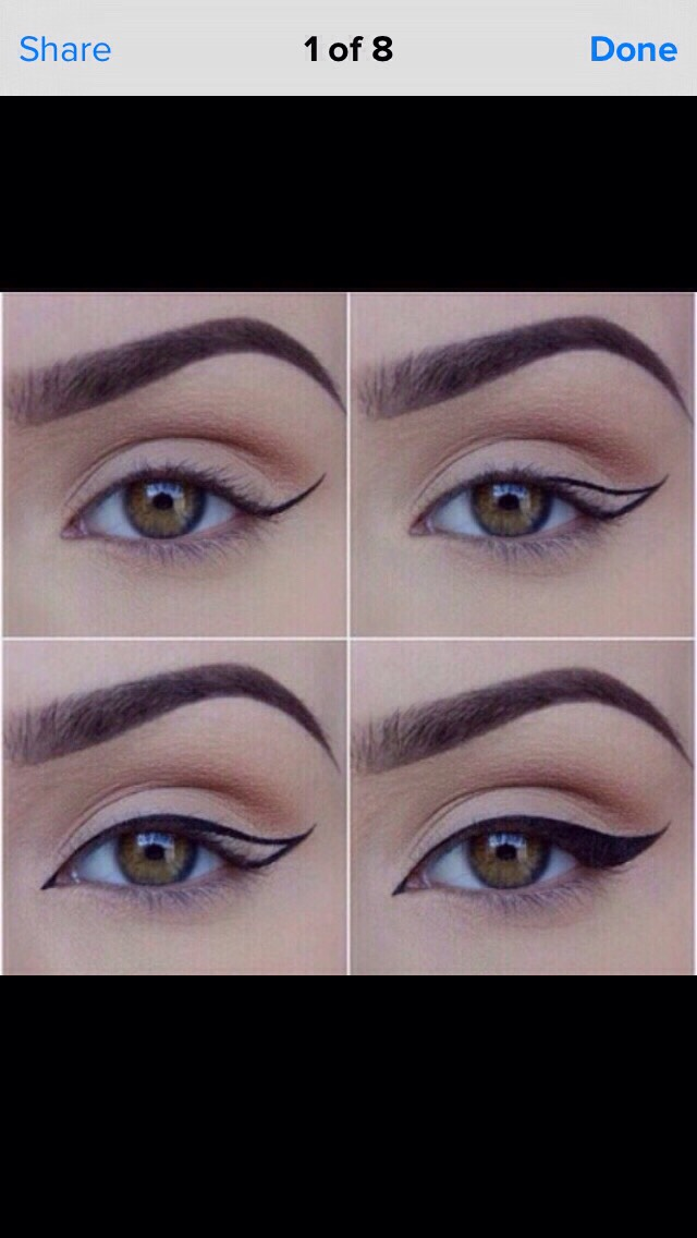 How To Do Double Winged Eyeliner Steps