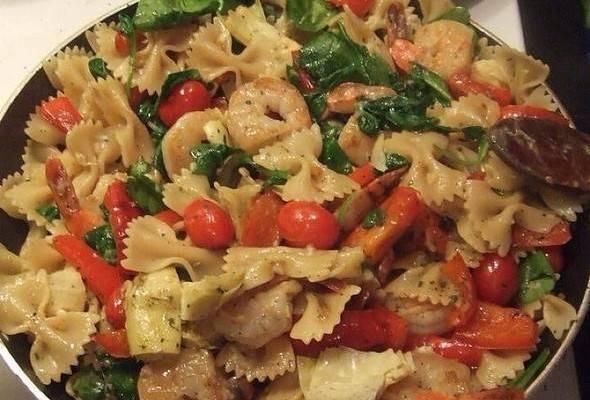 Shrimp And Artichoke Pasta | Trusper