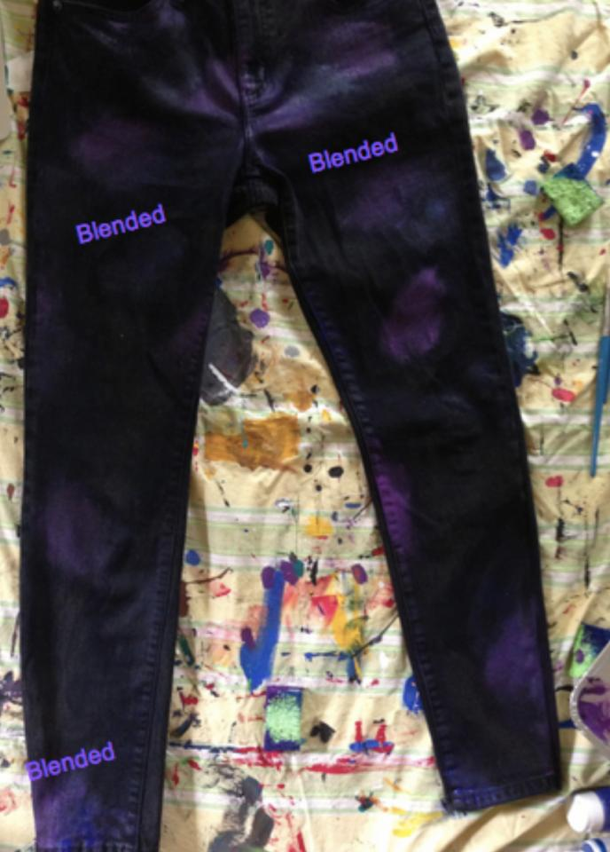 DIY Galaxy Skinny Jeans!!!   Trusper