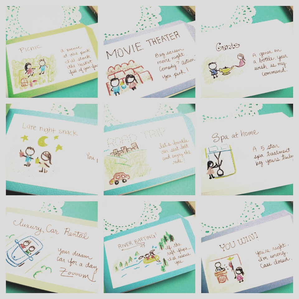 how to make a coupon book for your boyfriend