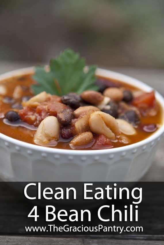 Delicious 4 Bean Chili   Trusper