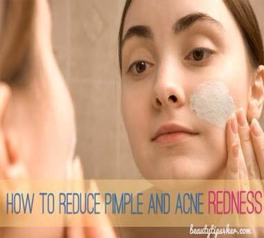 Face mask to reduce redness and acne