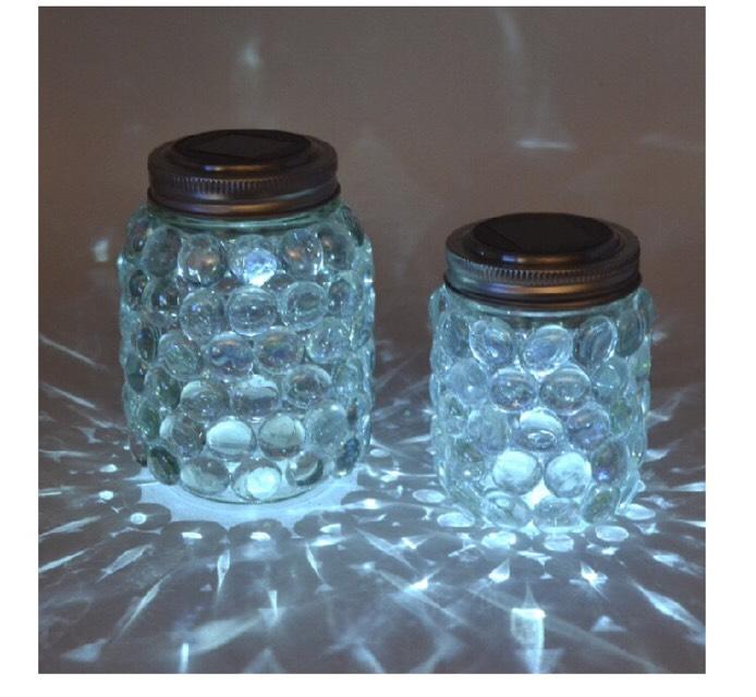 DIY Easy Mason Jar Luminaries!!