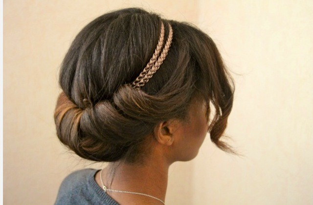Chignon Headband Hair Tutorial Trusper