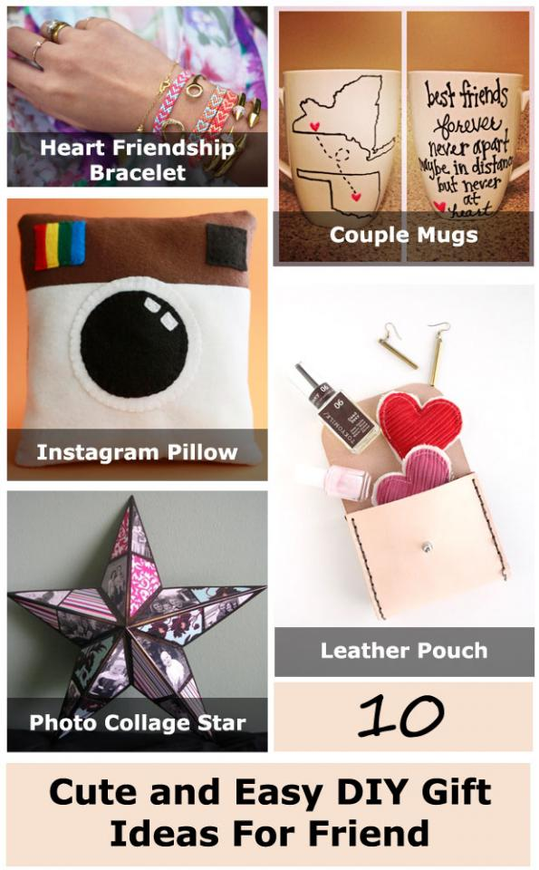 10 cute and easy diy gift ideas for friend trusper for Cute small gifts for friends