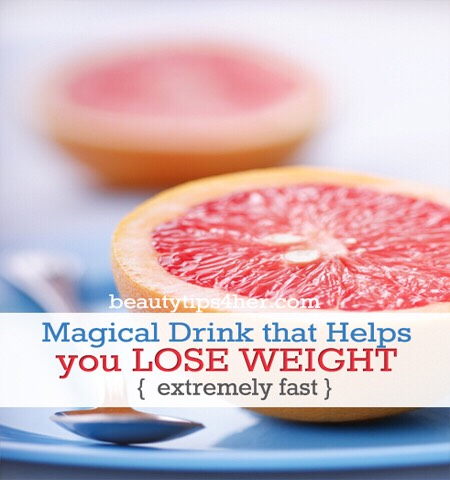 Magical Drink That Helps You Loose Weight Extremely Fast #tipit
