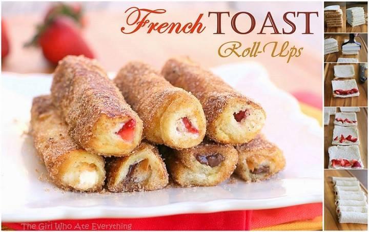 FRENCH TOAST ROLL-UPS | Trusper