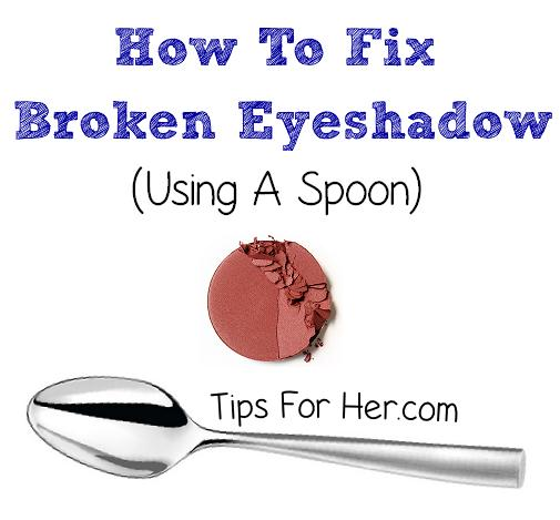 how to fix dry eyeshadow