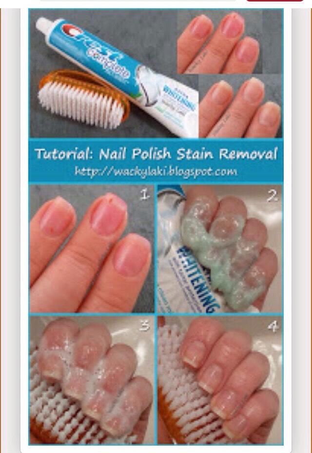 Nail Polish Stain Remover