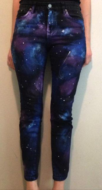 DIY Galaxy Skinny Jeans!!!