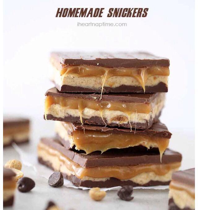DIY Homemade Snickers Bars! | Trusper