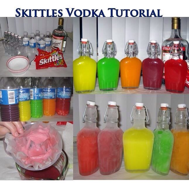 Cool drinks with vodka and skittles very tasty and easy for Fun drinks to make with vodka