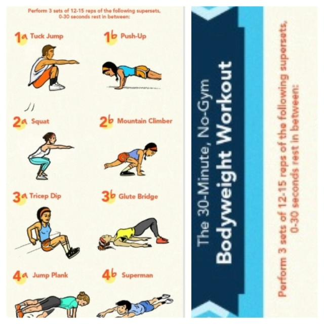 Fat Burning 30 Minute Workout