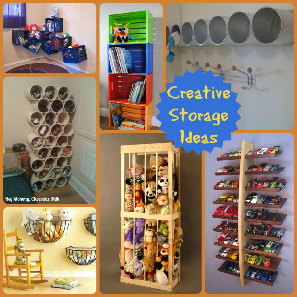 Creative Toy Storage Ideas Trusper