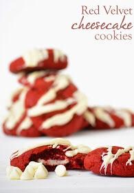 ✨Delicious Red Velvet Cheesecake Cookies✨😍