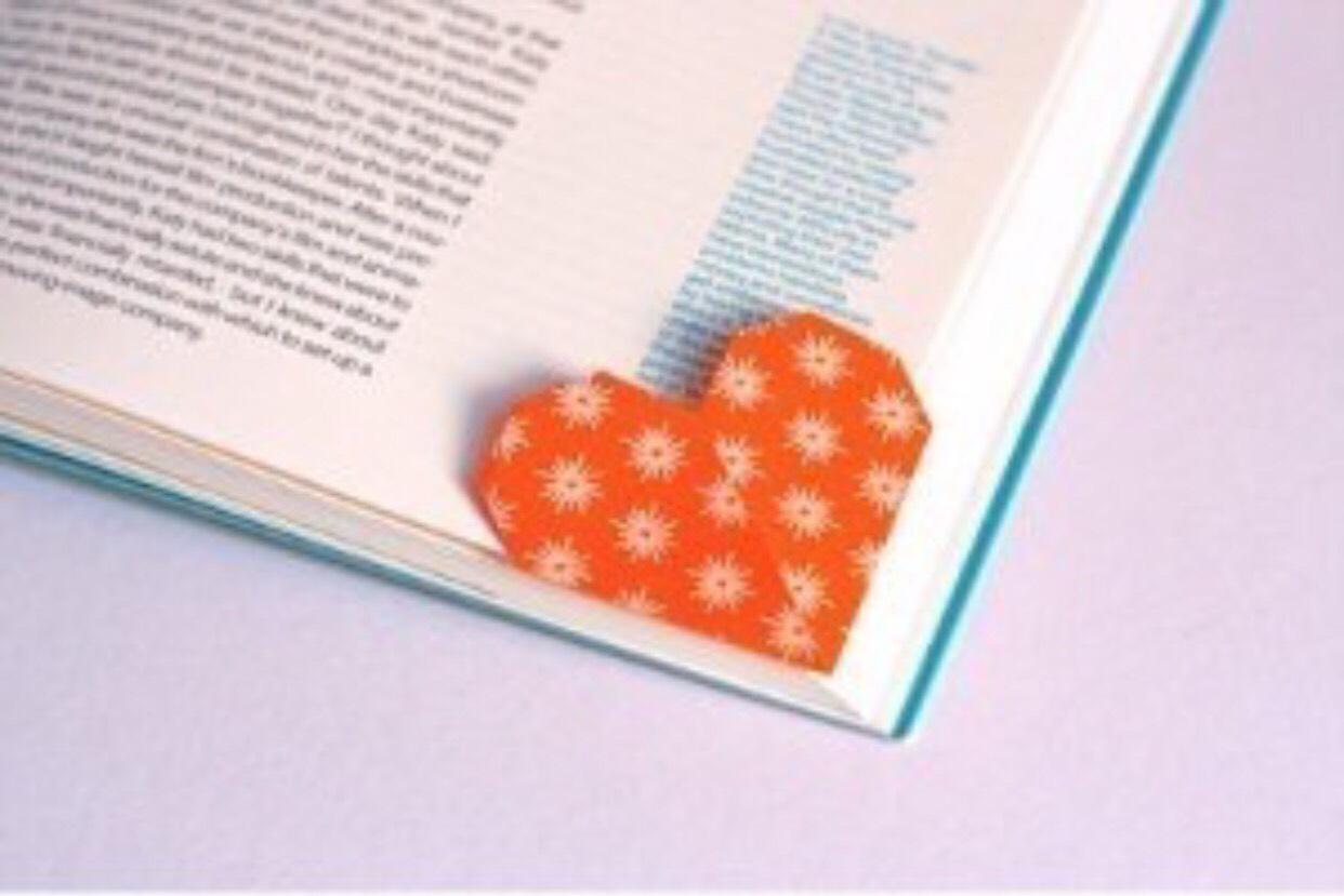 Origami Heart Bookmark. 💕 | Trusper - photo#26
