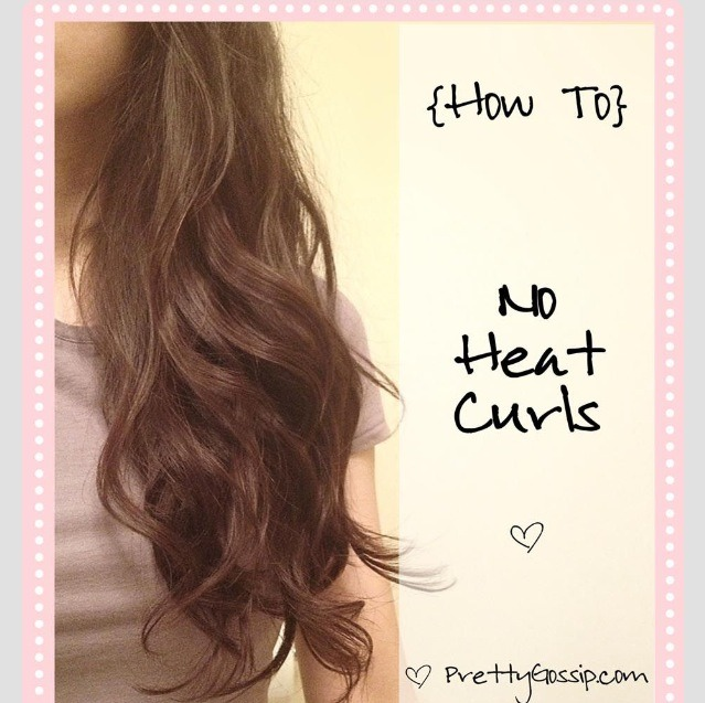Perfect Curls With No Heat!