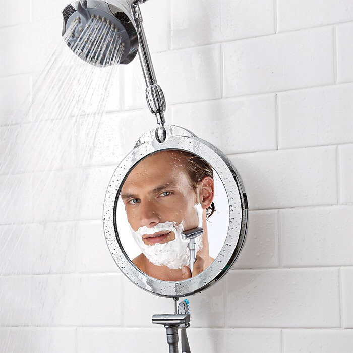 put a mirror i 39 m the shower it 39 s the best place to pluck your eyebrows trusper. Black Bedroom Furniture Sets. Home Design Ideas