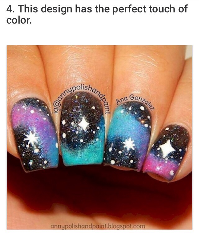 2⃣0⃣ Cosmic Nail Designs That Are Out Of This World! | Trusper
